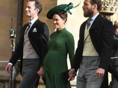 PHOTOS – Mariage d'Eugénie d'York : Pippa Middleton, très enceinte, est venue malgré son passé compliqué avec la mariée