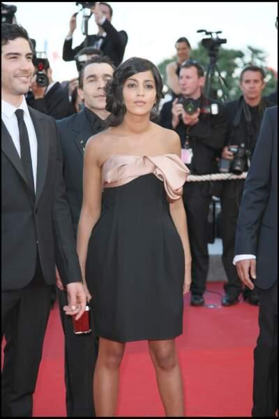 Tahar Rahim et Leïla Bekhti font leur première apparition au 62ème festival de Cannes en 2009