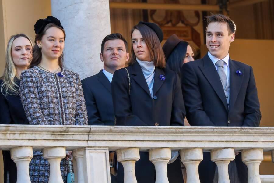 La princesse Alexandra de Hanovre, Pauline Ducruet, Louis Ducruet, Roisin Galvin et son mari Gareth Wittstock