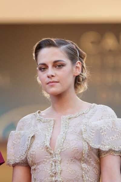 Pour Kristen Stewart, c'est un contour des lèvres parfaitement dessiné et mis en lumière