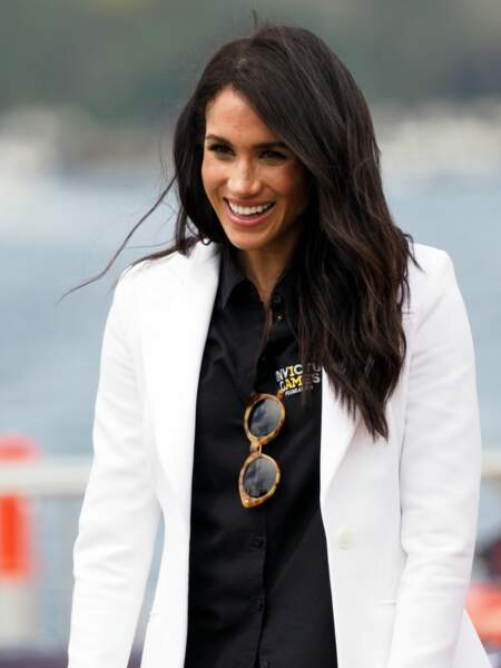 Un brushing glamour comme Meghan Markle