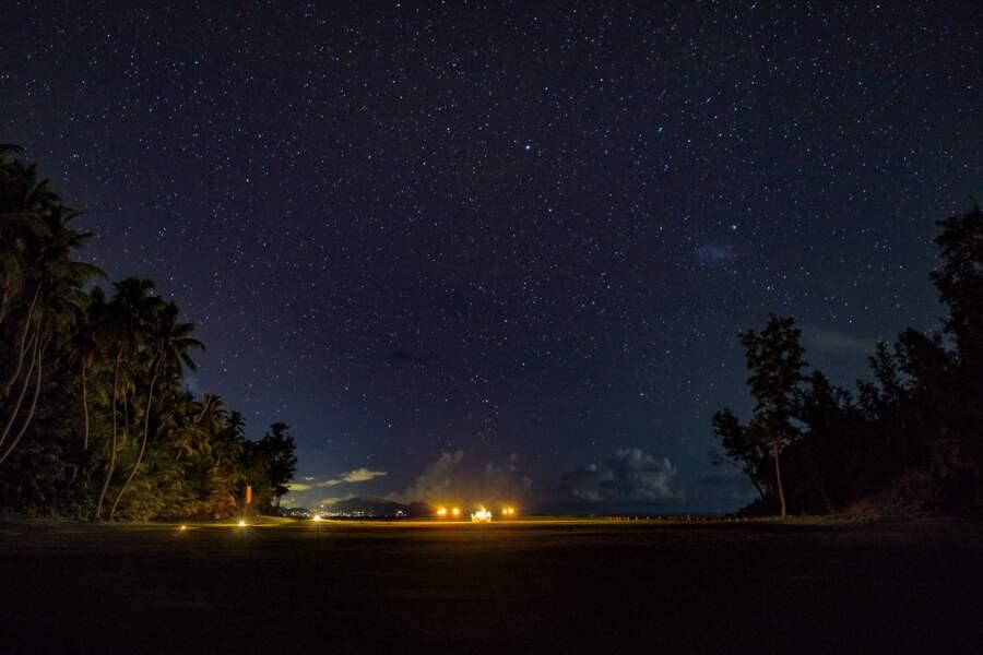 Kate Middleton et le prince William ont pu admirer les nuits étoilées lors de leur lune de miel aux Seychelles