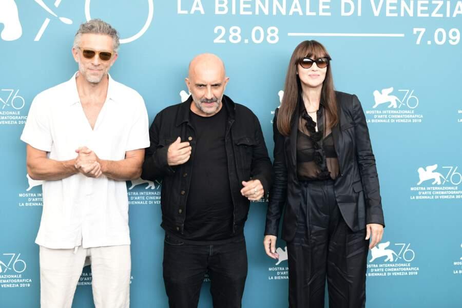 """Vincent Cassel et Monica Bellucci étaient réunis à l'occasion de la projection du film """"Irréversible"""" de Gaspar Noé"""