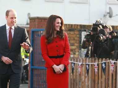 Kate Middleton / Letizia d'Espagne : le match en tailleur rouge
