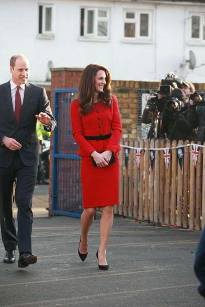 Kate Middleton en Luisa Spagnoli