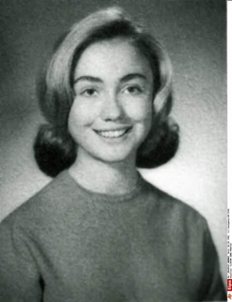Hillary Rodham, à 17 ans (1964)