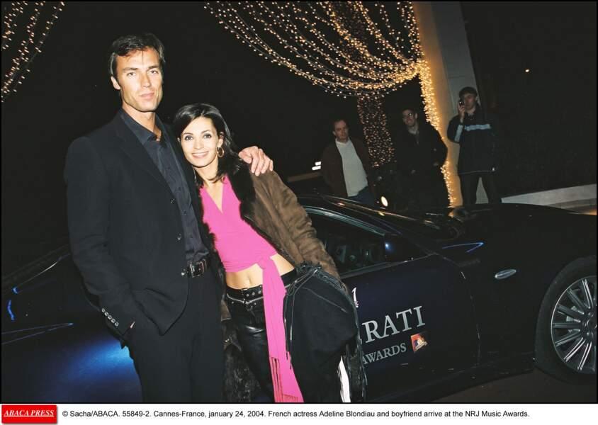 """Sergio Temporelli est un ex-mannequin rencontré par Adeline, sur le tournage de la sitcom """"Les filles d'à côté"""""""