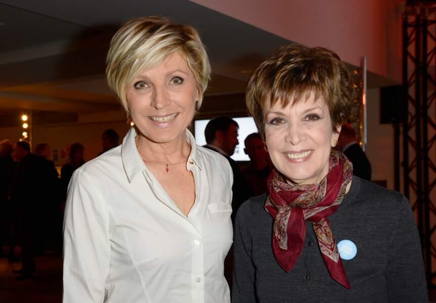Evelyne Dhéliat et Catherine Laborde