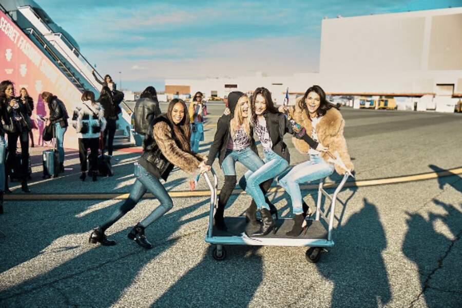 Joan Smalls, Lily Donaldson, Bella Hadid et Kendall Jenner