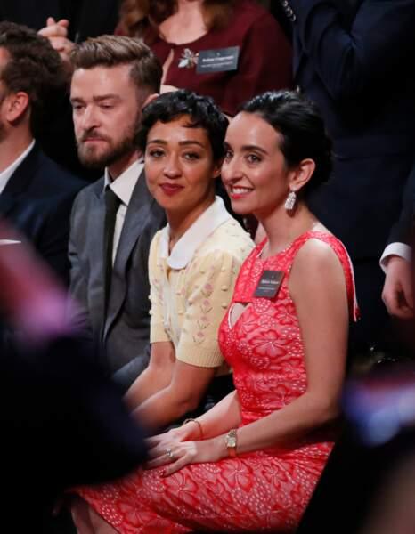 Justin Timberlake, Ruth Negga et Raphaela Neihausen