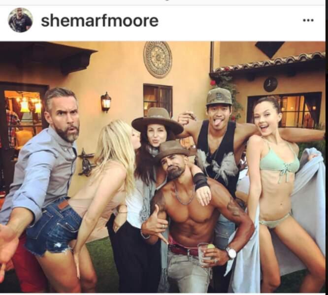Shemar Moore et ses amis