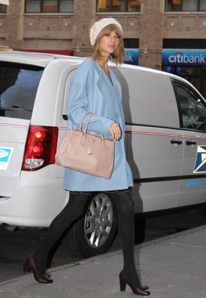 Taylor Swift dans son look cool