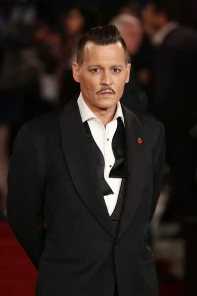 L'acteur était sur le red carpet le 2 novembre
