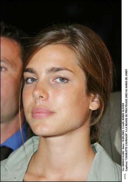 A la remise du prix Pegase au Haras de Jardy Feminin, en 2003.