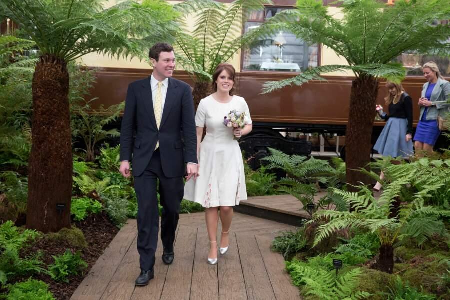 La princesse Eugenie d'York épousera Jack Brooksbank le vendredi 12 octobre 2018 à Windsor