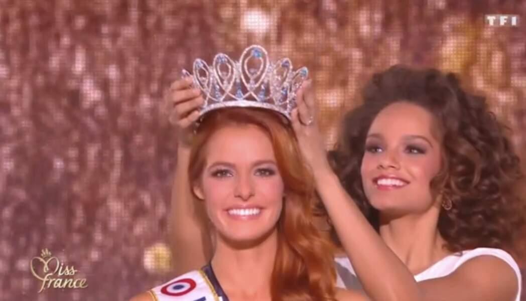 Alicia Ayles cède sa couronne à la nouvelle Miss France