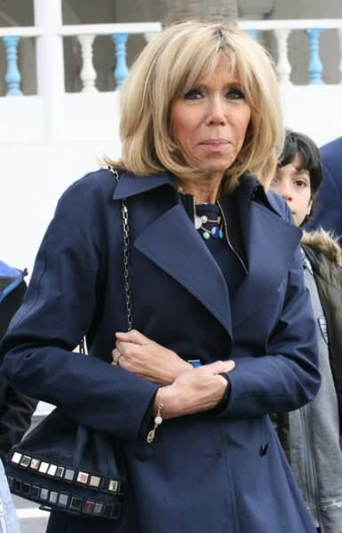 Brigitte Macron au musée du Bardo