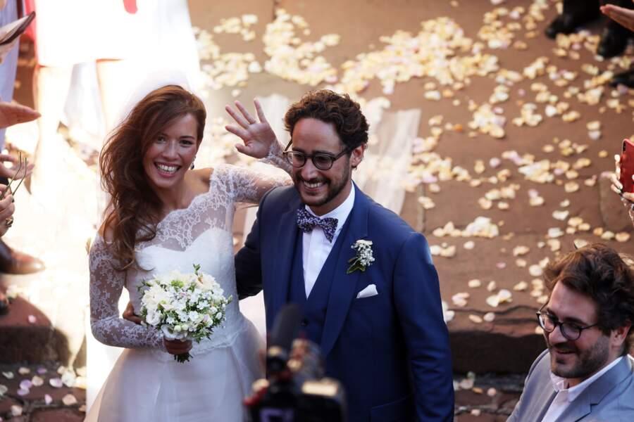 Mariage de Thomas Hollande et Émilie Broussouloux à Meyssac le 8 septembre 2018
