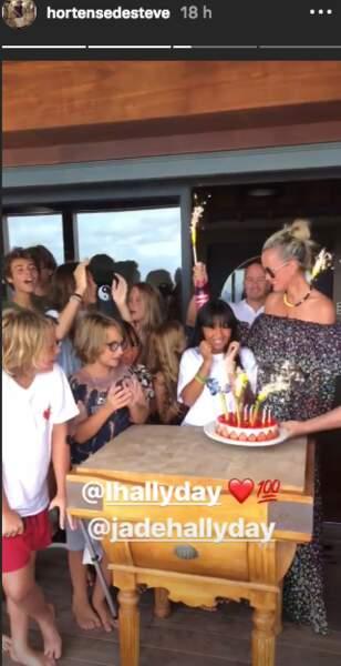 Laeticia Hallyday a organisé une jolie fête d'anniversaire pour sa fille Jade