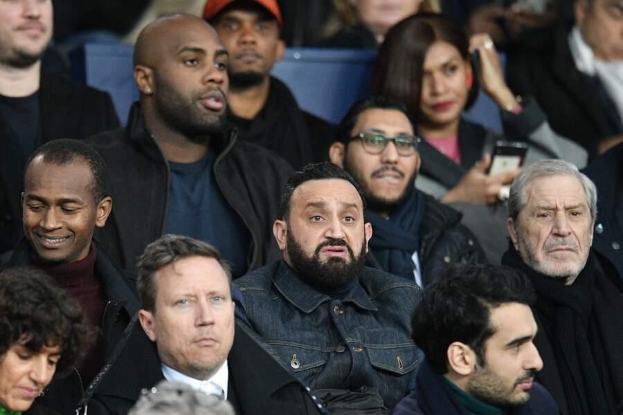 Cyril Hanouna était au rendez-vous pour ce match opposant le PSG à Manchester United