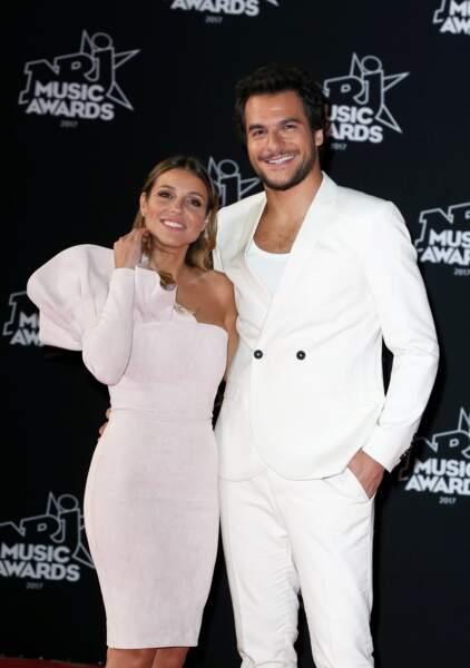 Amir Haddad et sa femme Lital à la 19ème édition des NRJ Music Awards à Cannes le 4 novembre 2017