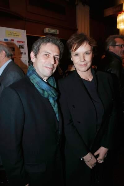Frédéric Taddéi et sa femme Claire Nebout