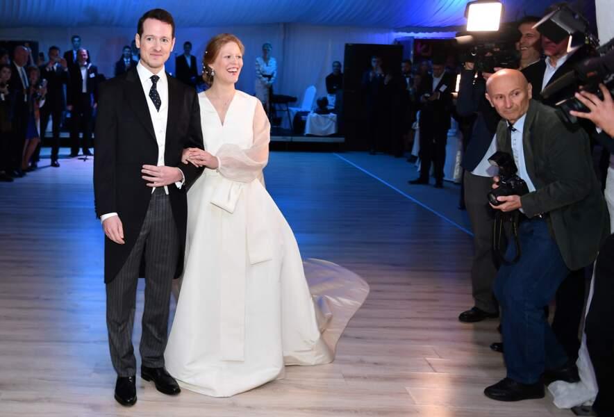 Mariage du prince Philip de Serbie avec Danica Marinkovic à Belgrade le 7 octobre 2017