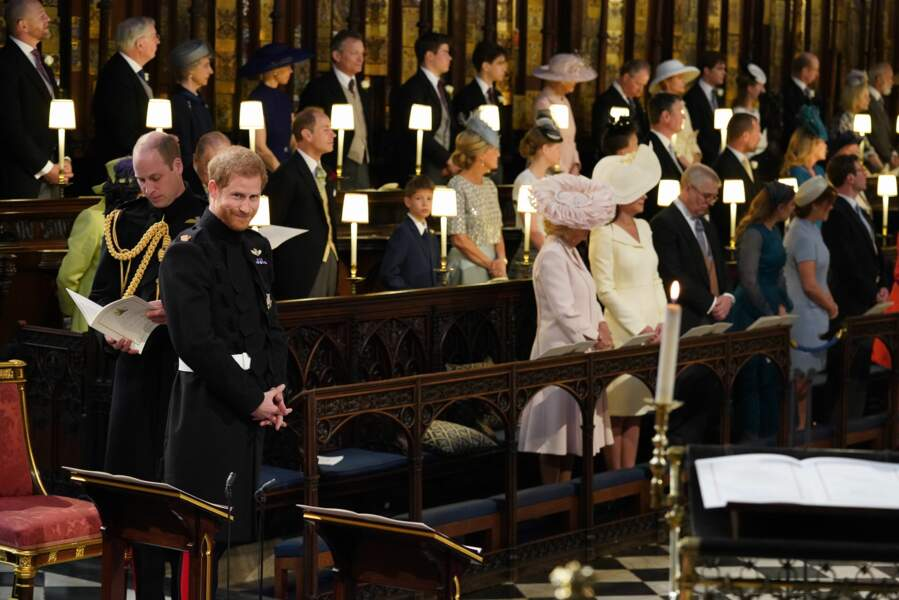 Kate Middleton dans la chapelle