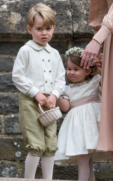 Le prince George au mariage de Pippa Middleton le 20 mai 2017 à Englefield