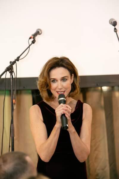 Elsa Zylberstein, l'invitée d'honneur du dîner 2018 de la M Foundation