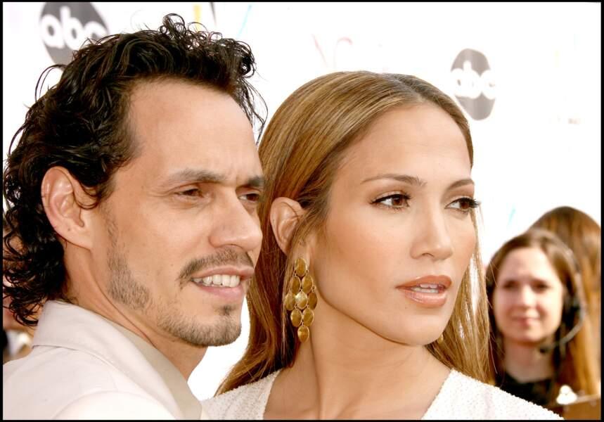 Marc Anthony et Jennifer Lopez à Los Angeles en 2006