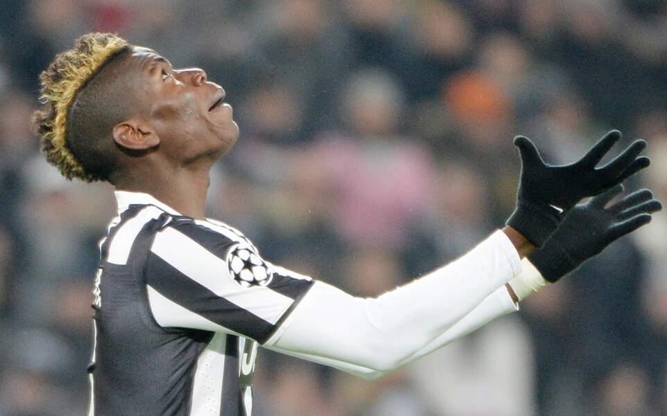 Avec La Juventus, le milieu de terrain exulte en blond
