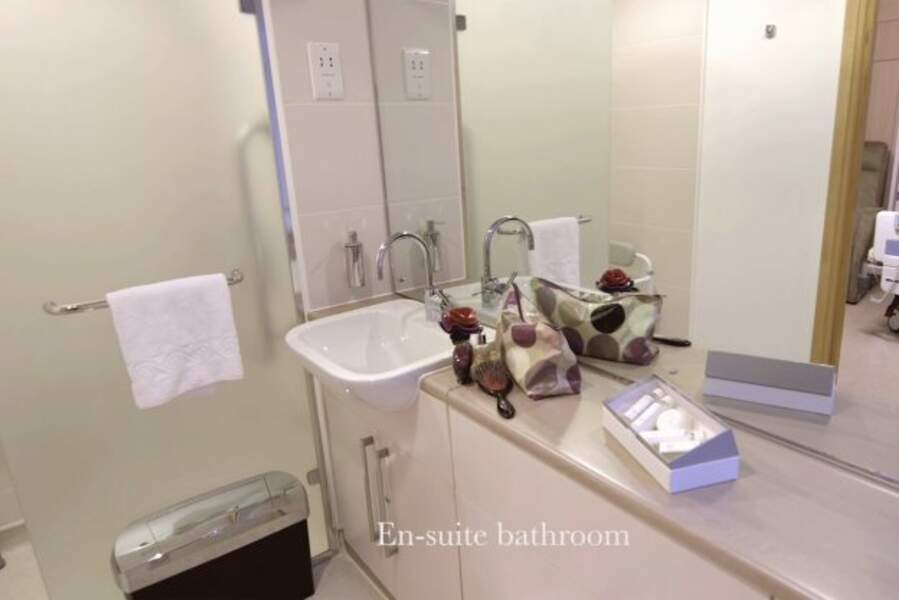 La salle de bain tout confort