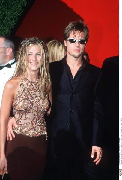 Jennifer Aniston et Brad Pitt en 1999