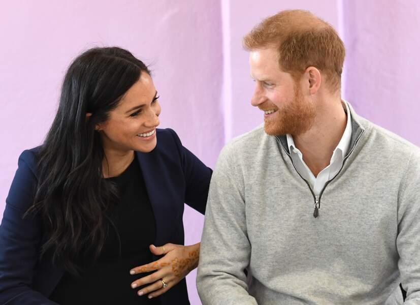 Le prince Harry et Meghan Markle particulièrement complices