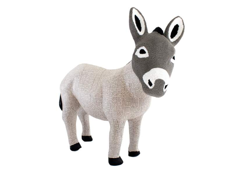 "Animal sculpté ""Donkey"", 300 €, Marni Ark."