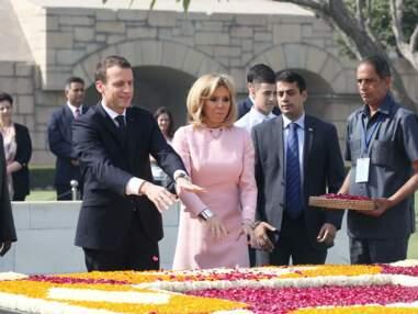 Brigitte Macron ultra chic, enchaine les tenues élégantes en Inde