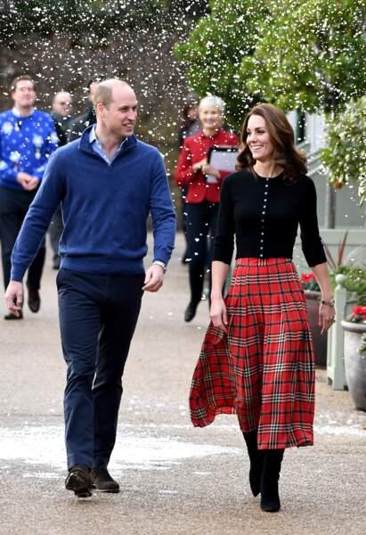 Kate Middleton porte une fois de plus une jupe signée de sa créatrice fétiche Emilia Wickstead