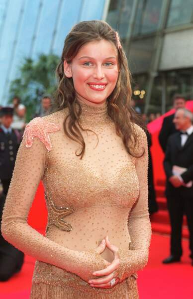 Laetitia Casta retourne à Cannes en 2000