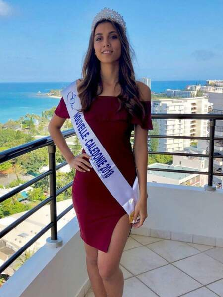 Amandine Chabrier, 19 ans, a été sacrée Miss Nouvelle-Calédonie et tentera de devenir Miss France 2019