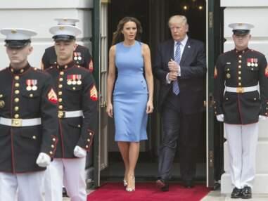 PHOTOS - Le fessier de Melania Trump enflamme la presse