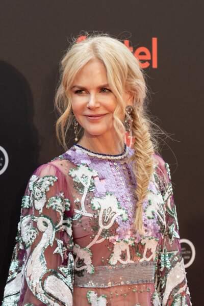 Une tresse bohème comme Nicole Kidman