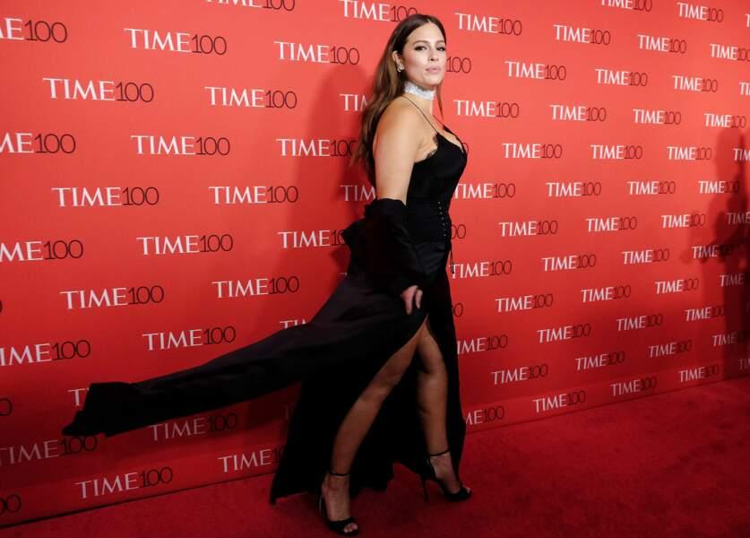 Ashley Graham était invitée par le Time, qui la considère comme une des 100 personnes les plus influentes du monde