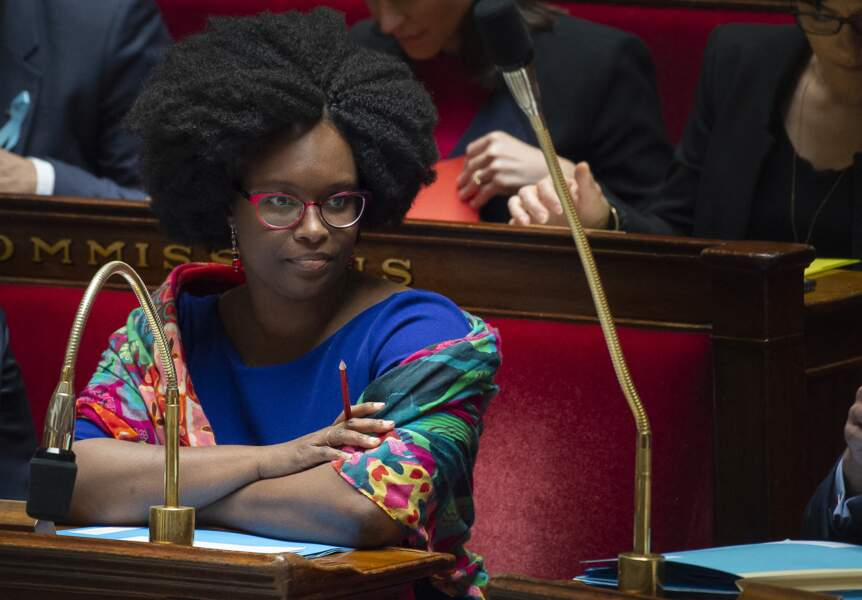 Sibeth Ndiaye en plusieurs looks confectionnés maison 4/10