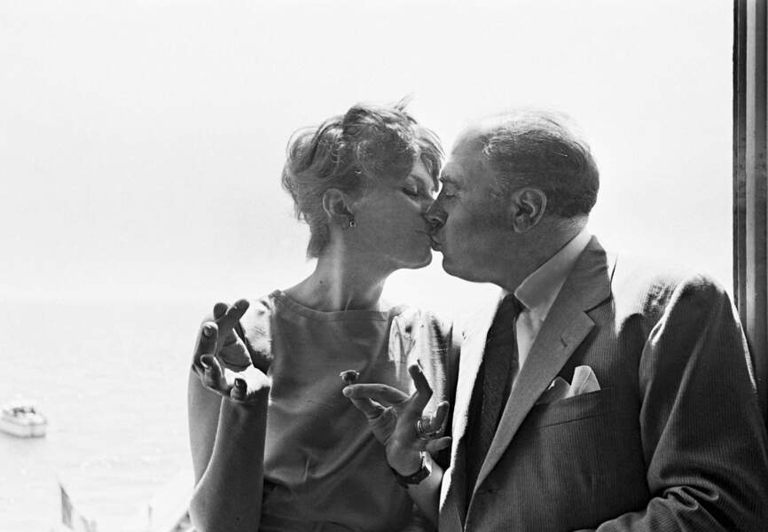 Sofia Loren et Carlo Ponti en 1959