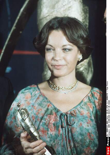 """En 1976, Romy Schneider est la première actrice récompensée pour son rôle dans """"L'important c'est d'aimer"""""""