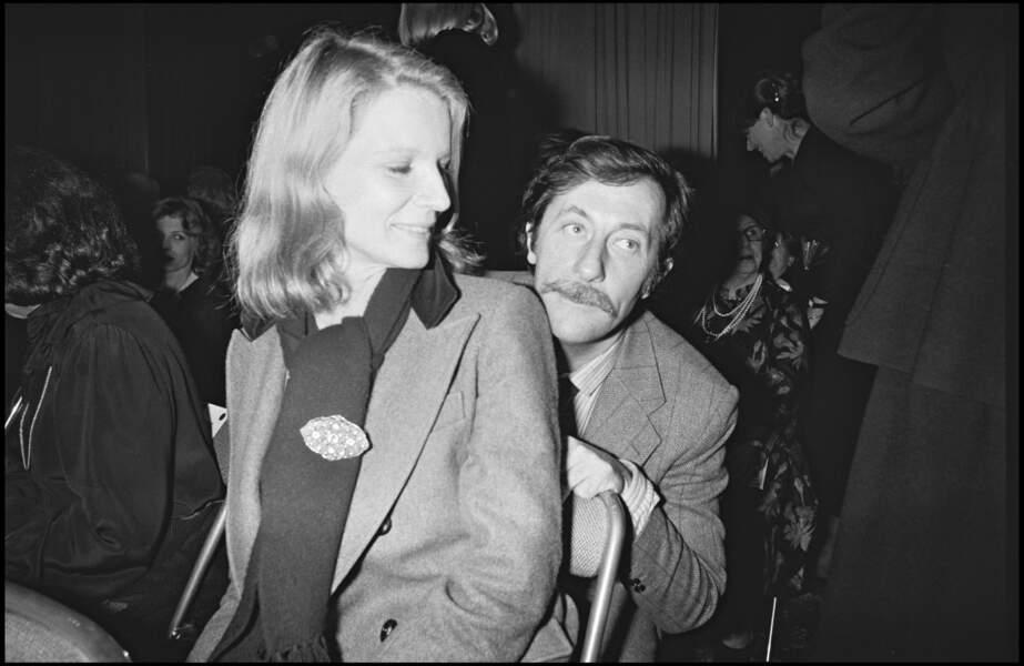 Jean Rochefort et Nicolas Garcia en 1980