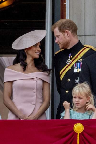 Meghan Markle à Horse Guards Parade pour la parade Trooping the colour