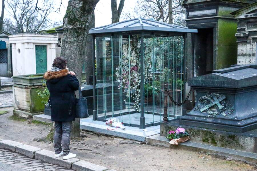 Le caveau familial au cimetière de Montmartre où France Gall rejoindra sa fille Pauline Hamburger et Michel Berger