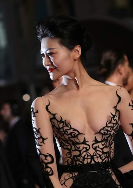Mission accomplie pour cette jeune femme qui a fait parler d'elle lors du festival de Cannes 2018.